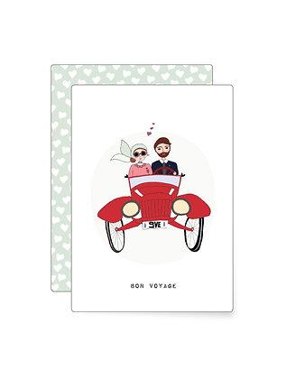 Bon voyage | Minikarte