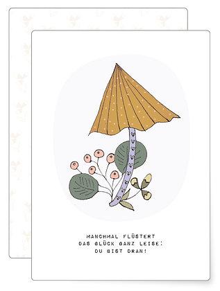 Das Glück wartet.. | Postkarte