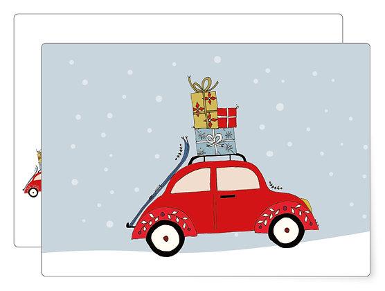 Weihnachskäfer | Postkarte