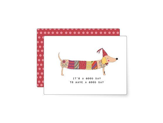 It's a good day | Minikarte