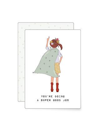 Superwoman | Minikarte