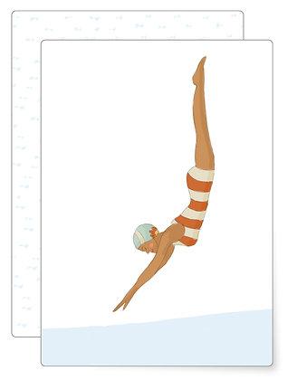 Swim | Postkarte