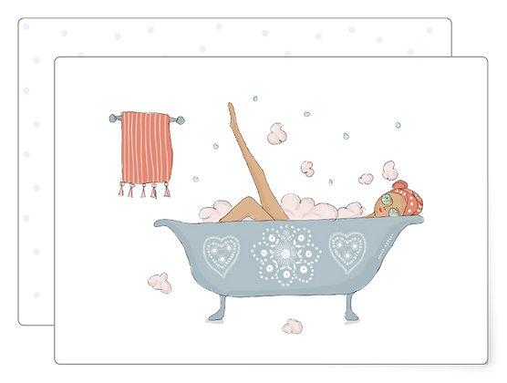 Heut ist ein schöner Tag | Postkarte