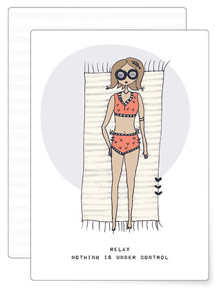 Relax ... | Postkarte