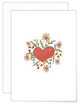 Liebe | Postkarte