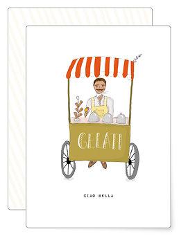 Ciao bella | Postkarte