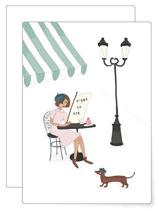 Café Paris | Postkarte