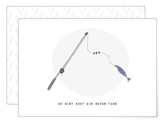 Guter Fang | Postkarte