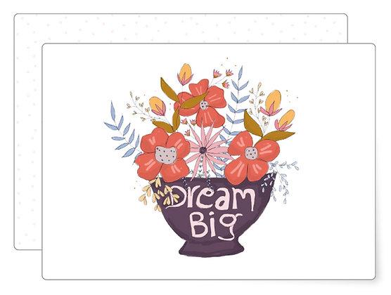 Dream big | Postkarte