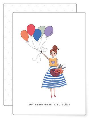 Zum Geburtstag | Postkarte