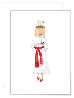 Luzia   Postkarte