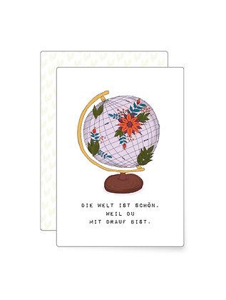 Die Welt ist schön…   Minikarte