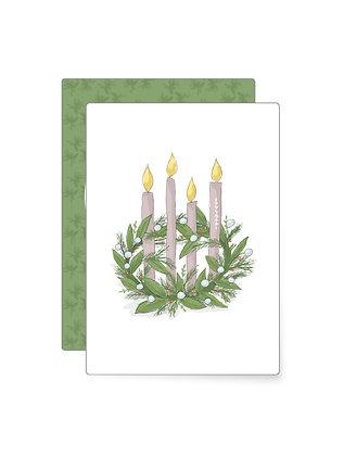 Adventskranz   Minikarte