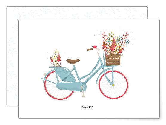 Ein kleines Danke   Postkarte