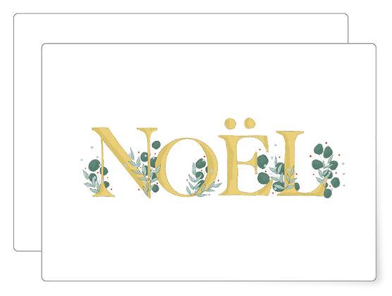 Noël   Postkarte