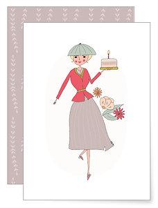 Kuchen für Dich | Klappkarte