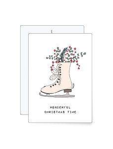 Wonderful christmas time   Minikarte