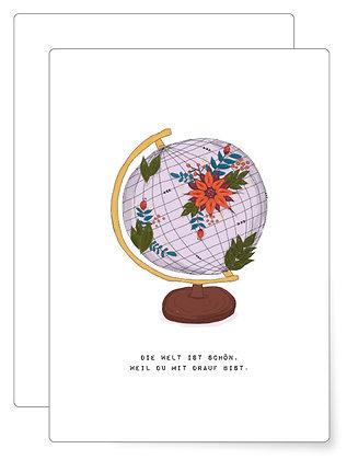 Schöne Welt | Postkarte