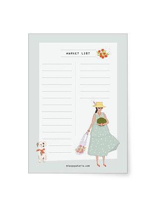 Market list | Block A6
