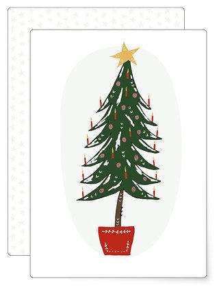 Weihnachtsbaum | Postkarte
