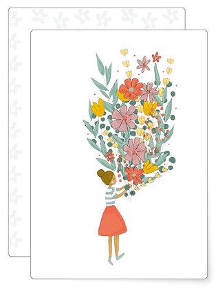 Flowers | Postkarte