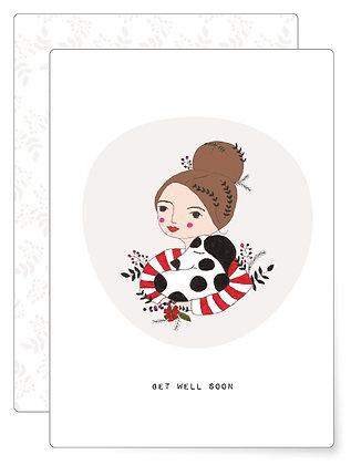 Get well soon | Postkarte