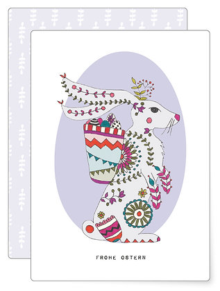 Osterhase | Postkarte