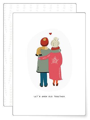 Grow old | Postkarte