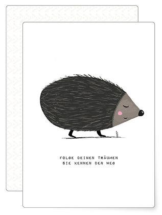 Igel | Postkarte