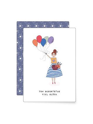 Zum Geburtstag... | Minikarte
