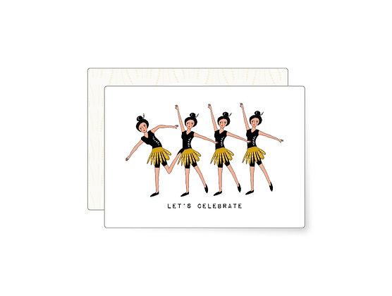 Let's celebrate | Minikarte