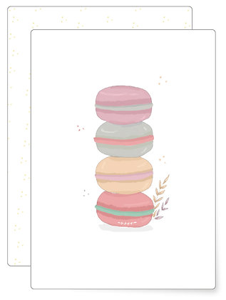 Macaron | Postkarte