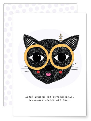 Katze | Postkarte