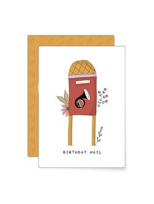 Postkasten   Minikarte