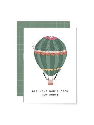Old ways won't… | Minikarte