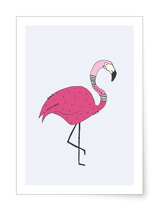 Flamingo | Art Print