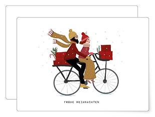 Weihnachtstour   Postkarte