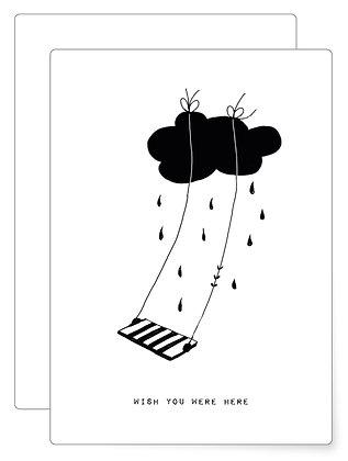 Wish you | Postkarte