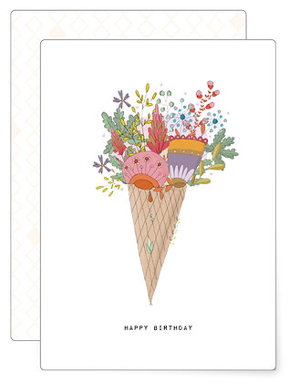 Happy birthday | Postkarte