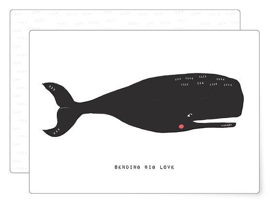 BIG love | Postkarte