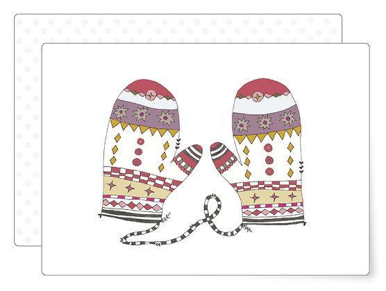 Handschuhe | Postkarte