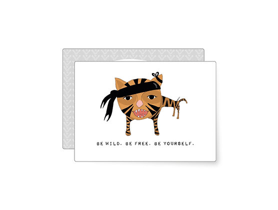 Be wild. Be free. Be yourself. | Minikarte