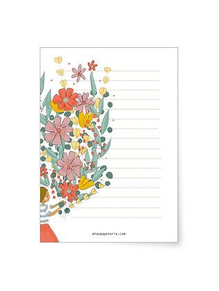 Flowers | Block DINA6