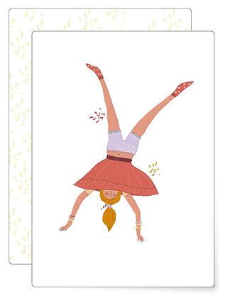Was Dich glücklich macht | Postkarte