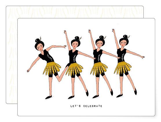 Let's celebrate | Postkarte