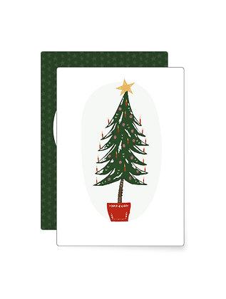 Kleiner Christbaum   Minikarte