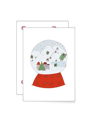 XMAS Kugel | Minikarte