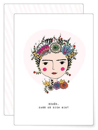 Schön, dass ... | Postkarte