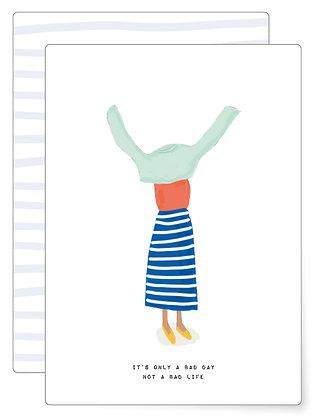 Stuck | Postkarte