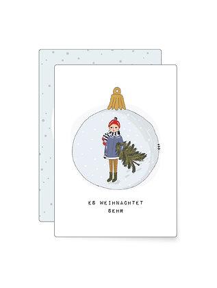 Es weihnachtet sehr... | Minikarte